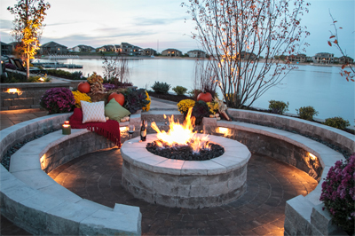 sterling hardscapes patio decor in omaha foutch landscaping
